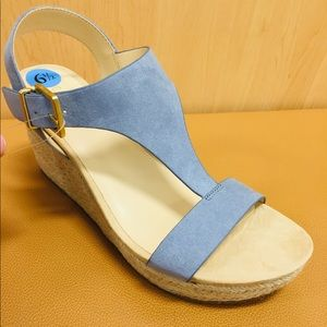 💙Espedrille Wedge Sandle by Kenneth Cole 💙